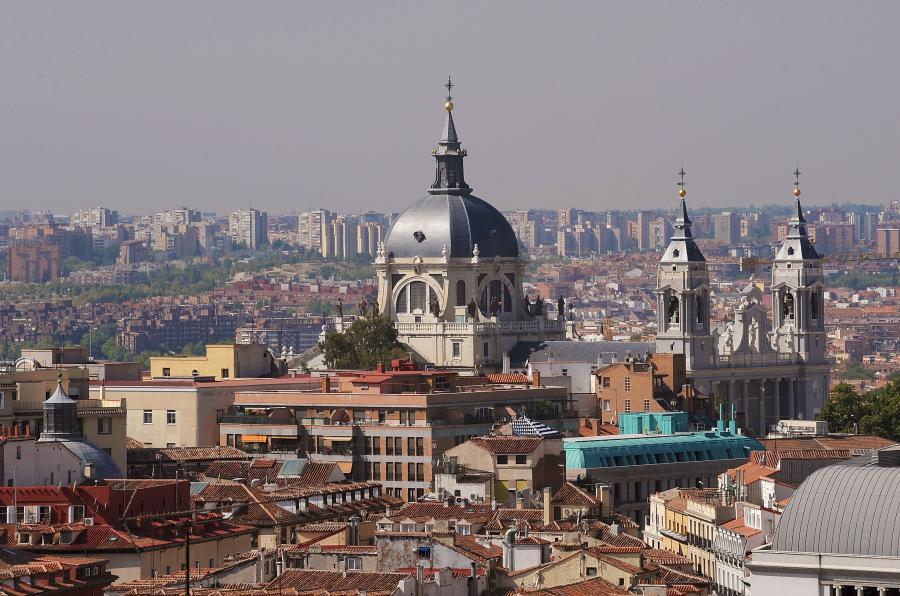 Madryt, stolica Hiszpanii