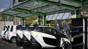 Toyota i-Road. Kompaktowy trójkołowy pojazd elektryczny