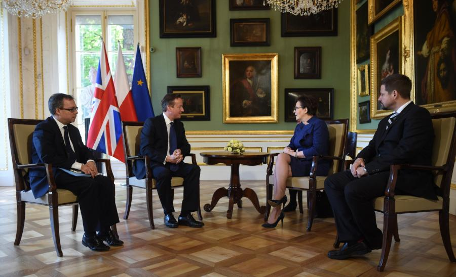 Kopacz i Cameron spotkanie