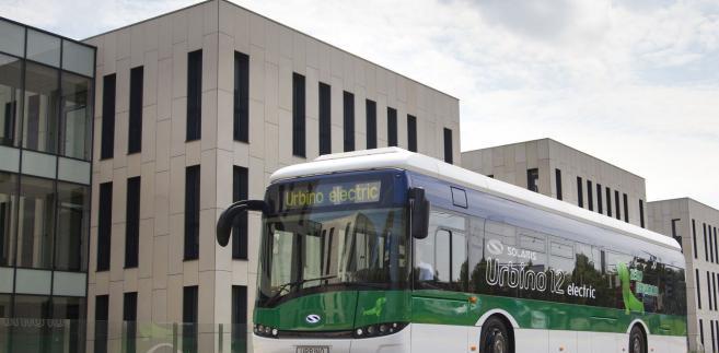 Solaris Urbino w wersji elektrycznej