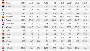 Nakłady brutto na środki trwałe, Infografika DG