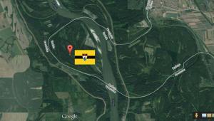 Liberland, źródło: Google Maps