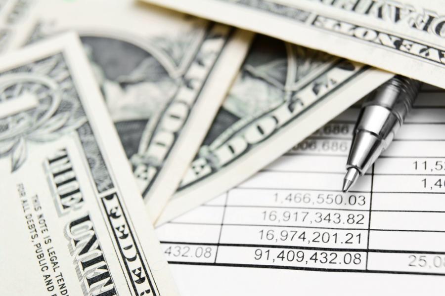 pieniądze podatek dolary
