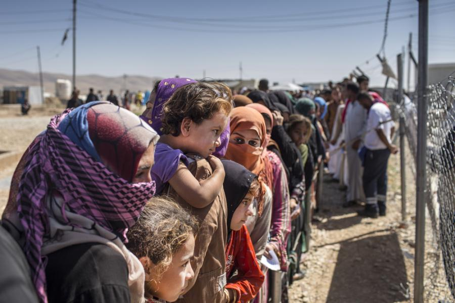 uchodźcy Syria