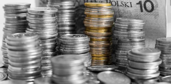 złotówki, pieniądze