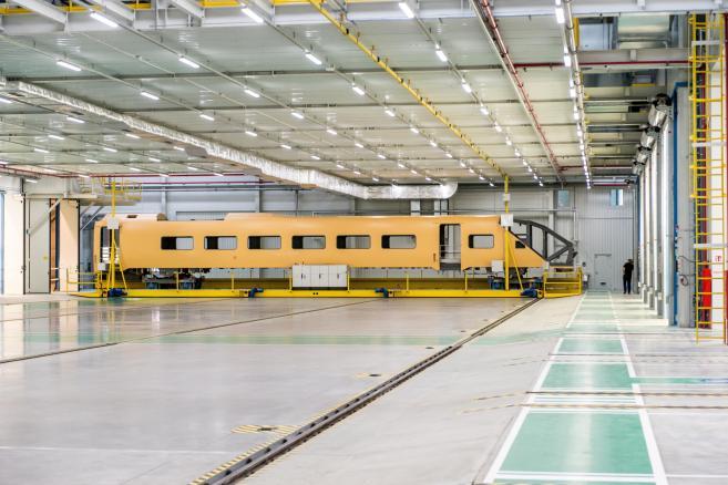 Zakłady Bombardier Transportation we Wrocławiu (kru) PAP/Maciej Kulczyński