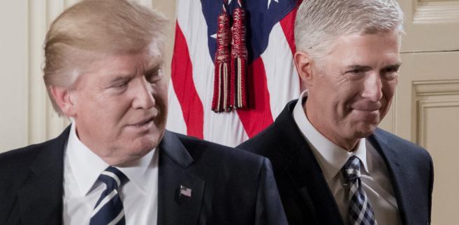 Donald Trump ogłasza nominację Neila Gorsucha