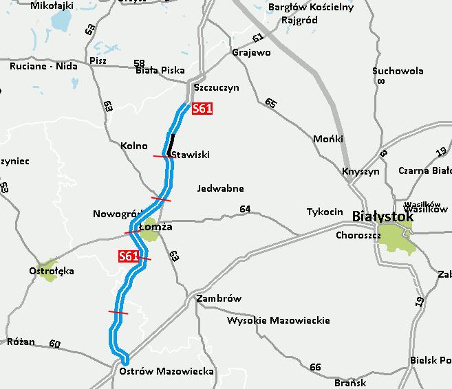 Trasa S61 Via Baltica