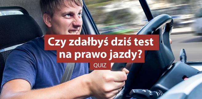 quiz - test na prawo jazdy