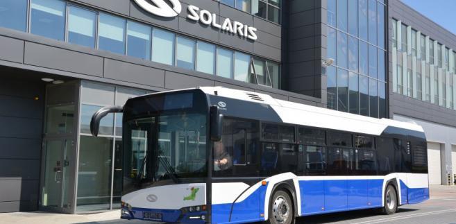 Elektryczny autobus Solarisa dla Krakowa