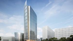 Mennica Legacy Tower - wizualizacja