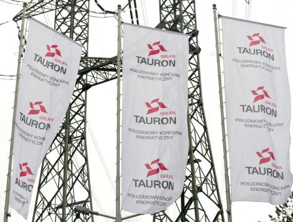 Flagi spółki Tauron