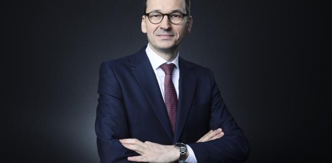 Mateusz Morawiecki w czasie Światowego Forum Ekonomicznego w Davos, Szwajcaria, 24.01.2018