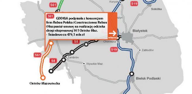 Droga ekspresowa S61 Ostrów Mazowiecka - Śniadowo