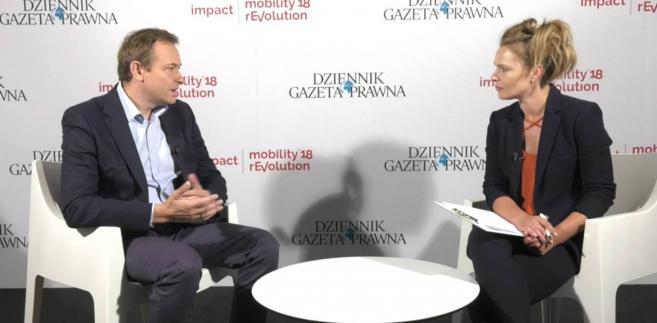 Marek Gawroński, wiceprezes Volvo w w Polsce