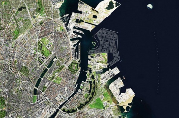 Plany Lynetteholmen. Źródło: Urząd Miasta Kopenhagi