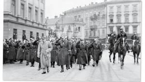 Obchody święta 11 listopada w Warszawie, 1932 r. fot. mat. prasowe