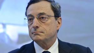 Mario Draghi, szef Banku Centralnego Włoch, fot. Jock Fistick/Bloomberg