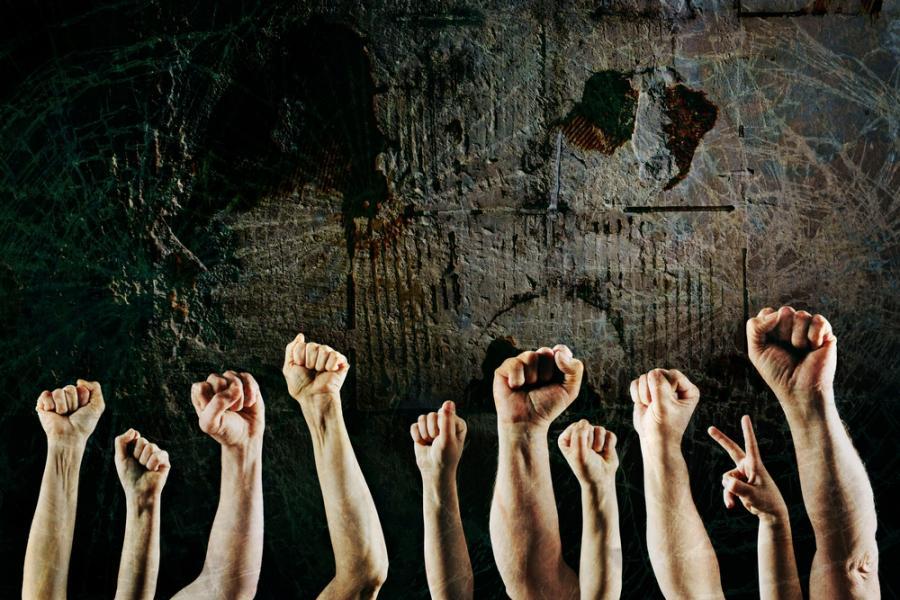 Związki zawodowe, protest, strajk For. Shutterstock