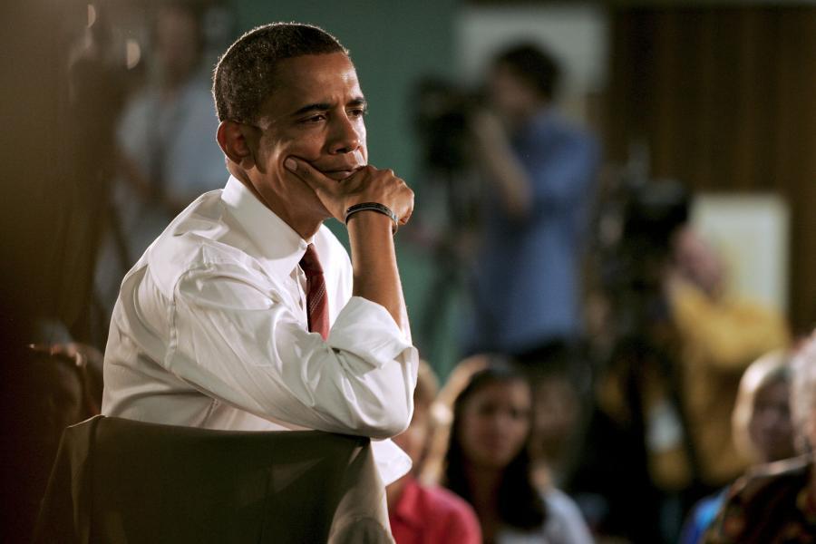 Barack Obama, prezydent Stanów Zjednoczonych, fot. Bloomberg