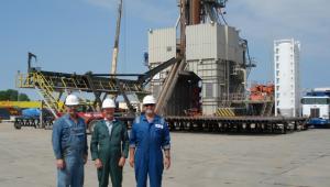 Odwiert Łebień LE-2H firmy 3Legs Resources - pierwsze miejsce w Polsce, gdzie odkryto złoża gazu łupkowego (9). Fot. materiały 3Legs Resources