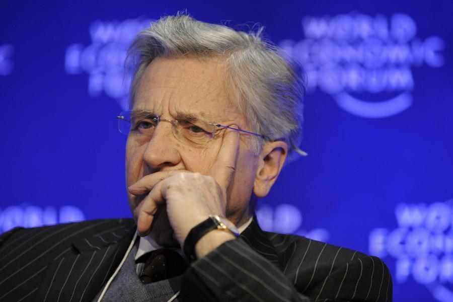 Szef Europejskiego banku Centralnego Jean-Claude Trichet. fot. Bloomberg