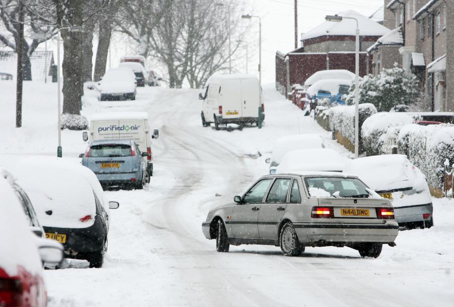 Atak zimy w Londynie. fot. Bloomberg