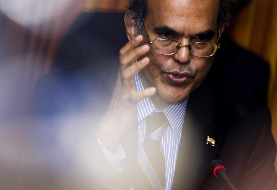 Duvvuri Subbarao, szef banku centralnego Indii. Fot. Bloomberg