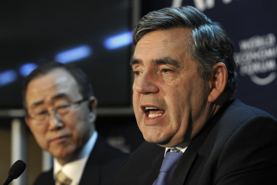 Premier Wielkiej Brytanii Gordon Brown
