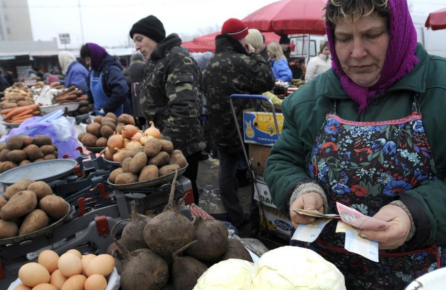 Ukraina prosi o pomoc. Media na Ukrainie sugerowały, że Rosja może pożyczyć 5 mld dolarów. fot. Bloomberg