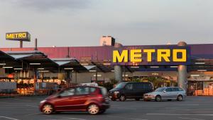 Sklep Metro AG Cash & Carry w Weiterstadt, w Niemczech.