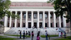 Biblioteka na Uniwersytecie Harvarda