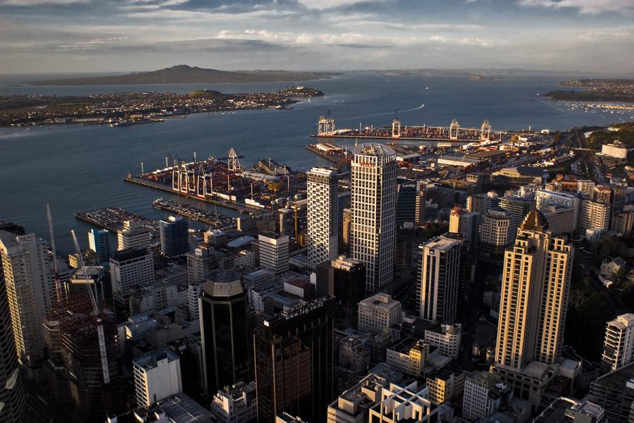 Auckland (Nowa Zelandia), autor: Partyzane, licencja: Creative Commons Attribution 3.0 Unported