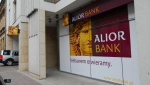 Alior Bank placówka przed otwarciem