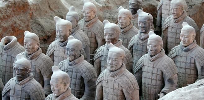 Armia terakotowa, Chiny
