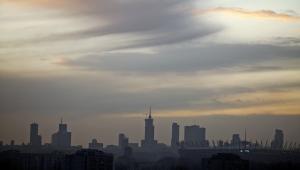 Warszawski skyline. Fot. Bartek Sadowski/Bloomberg