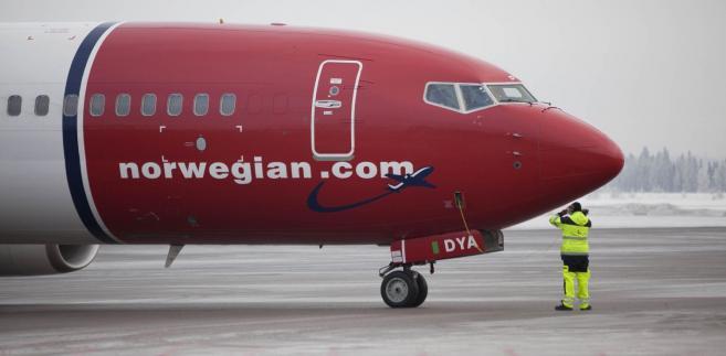 Tanie linie lotnicze Norwegian