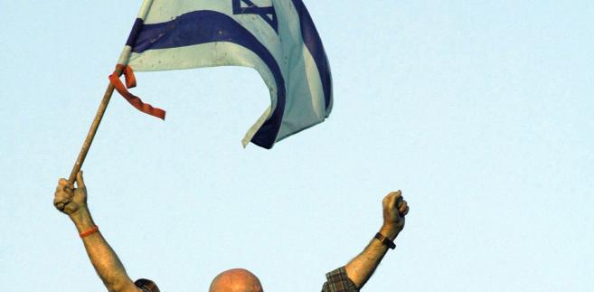 Flaga Izraela, fot. Eddie Gerald/Bloomberg News