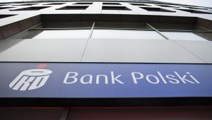 Logo PKO BP, fot. Bartek Sadowski/Bloomberg