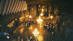 Kopalnia soli w Wielicze, jedna z najstarszych kopalni soli kamiennej na świecie. Warto dodać, że był to również jeden z najdłużej czynnych zakładów przemysłowych na świecie. Fot.flickr/Nigels Europe