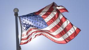 Flaga USA, fot. Kinetic Imagery