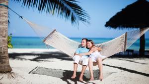 Turyści na wakacjach