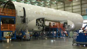 Drugi Boeing 787 Dreamliner LOT-u na linii produkcyjnej (2)