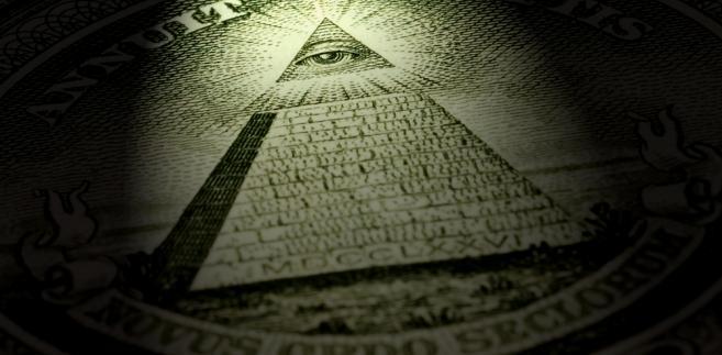 Piramida na dolarowym banknocie