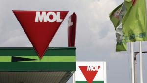 Logo węgierskiego koncernu paliwowego MOL